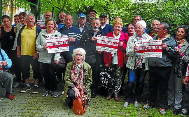 Los jubilados de Urola Kosta convocan una manifestación para el domingo