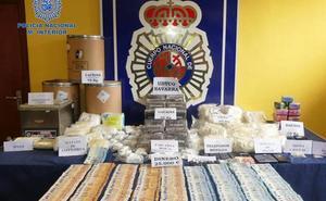 Incautados 32 kilos de cocaína y 65 de 'speed' destinados a los Sanfermines