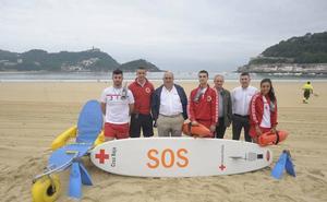 Arranca la temporada de playa en Gipuzkoa con 170 socorristas