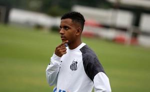 El Santos confirma el traspaso de Rodrygo al Real Madrid