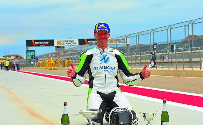Aitor Montero logra su segundo podio