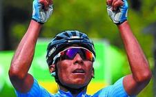 Nairo Quintana rompe en la Vuelta a Suiza trece meses de sequía