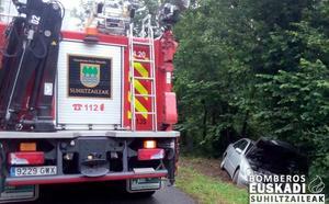 Tres heridos en sendos accidentes en las carreteras de Gipuzkoa