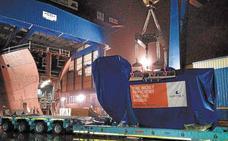 Los astilleros vascos suman hasta junio la misma cifra de contratos que en todo 2017