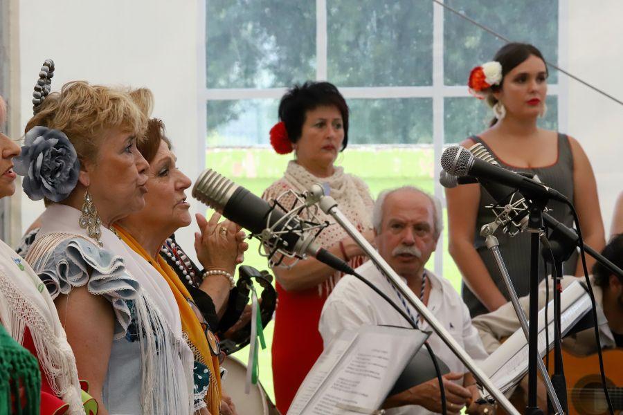 La asociación Concha Rociera ha celebrado su vigésimotercera romería rociera en Errenteria