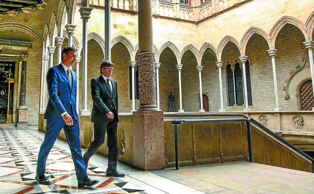 Sánchez ofrecerá a medio plazo un estatus a Cataluña que encauce su aspiración nacional