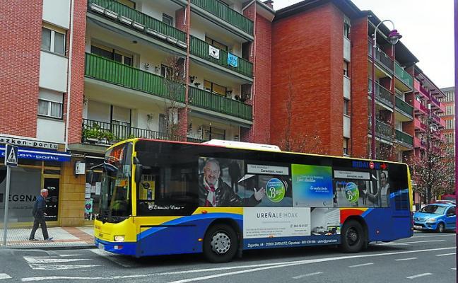 Entra en vigor el nuevo horario de verano del servicio de autobús urbano de Zarautz
