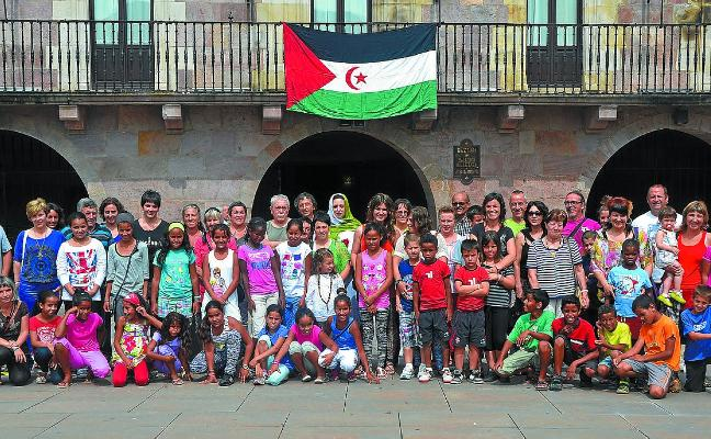 Un centenar de niños saharauis llegará para pasar el verano a Navarra