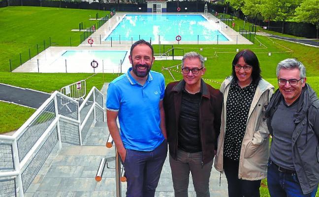 Inauguradas las nuevas piscinas