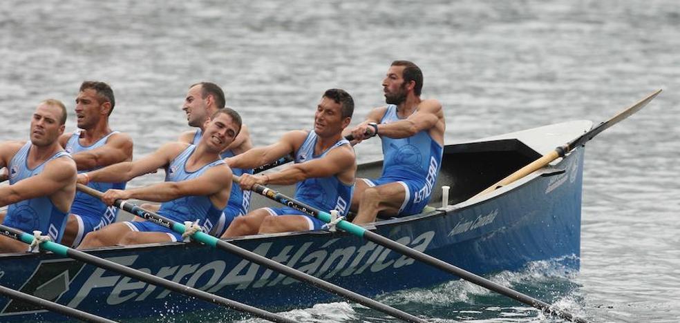 Astillero y Orio se reparten los éxitos en Portugalete