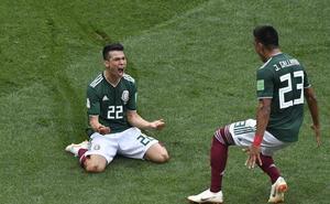 México noquea a la campeona