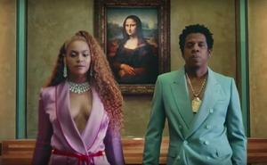 Beyoncé y Jay-Z se cuelan en el Louvre