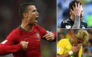 Ronaldo 1 - Messi/Neymar 0