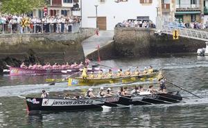 La Liga Euskotren de remo tendrá 14 regatas y provoca que las citas dominicales sean a las 11.45