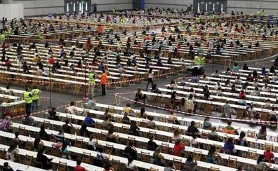 El 73,4% de los aspirantes a la OPE de Osakidetza del fin de semana ha aprobado los exámenes