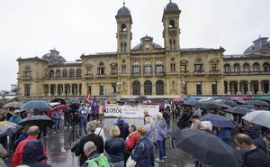 Los pensionistas de Gipuzkoa reclaman la revalorización con el IPC también en años de crisis económica