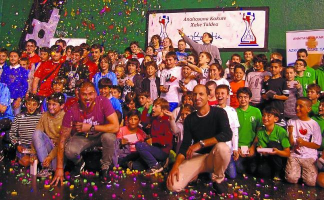La Final Gaztedi de ajedrez, todo un éxito de participación y organización