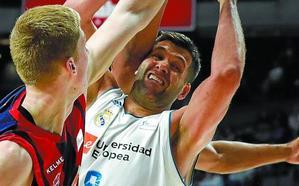 El Baskonia busca kriptonita para el Madrid y Felipe Reyes