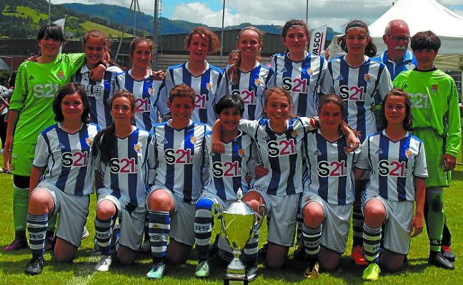 La Real gana la Azpeitia Cup