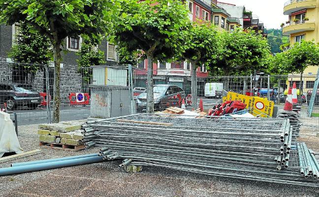 Comienza la reforma total de la calle Gudari, que culminará en diciembre