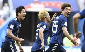 Japón sorprende a Colombia
