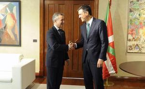 La reunión entre Sánchez y Urkullu se celebrará «en cuestión de días»