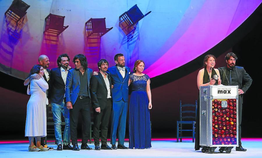 Éxito guipuzcoano en los premios Max