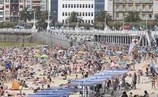 Jornada de sol y calor en Donostia