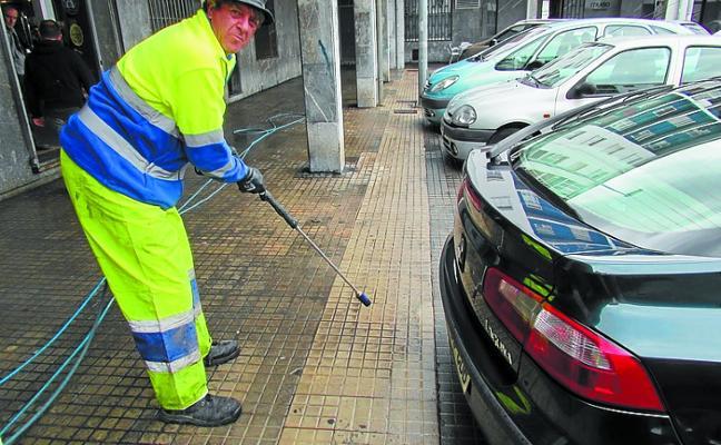 La contrata de limpieza viaria sale a concurso para 5 años por 1,5 millones