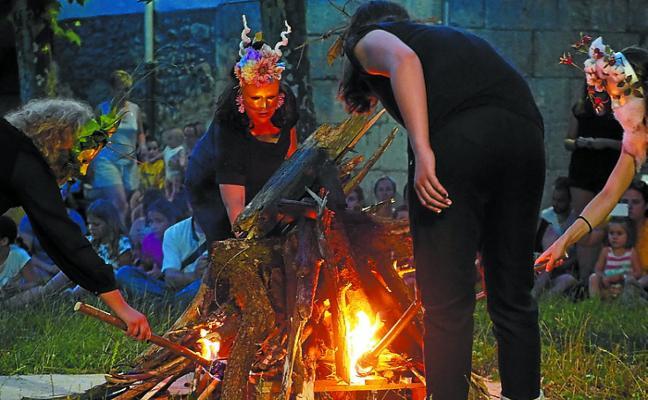Elgoibar recibirá mañana al solsticio de verano en Sallobente con la Ekigain Jaia!