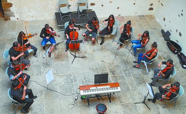 Musika Eskola en el cierre de curso