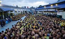 Búsqueda de contrabando en cárcel de Manila