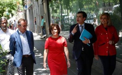 Alonso se posiciona en favor de Sáenz de Santamaría