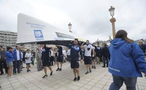 Liga ACT de remo: La trainera Donostiarra abrirá la contrarreloj de la Bandera de Bilbao