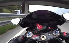 Detenido 'Diablo RiderR', el motero que se grababa a más de 250 km/h para colgarlo en la red