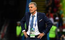 Queiroz: «Es una pena que el VAR no anulase el gol de Villa en Sudáfrica»