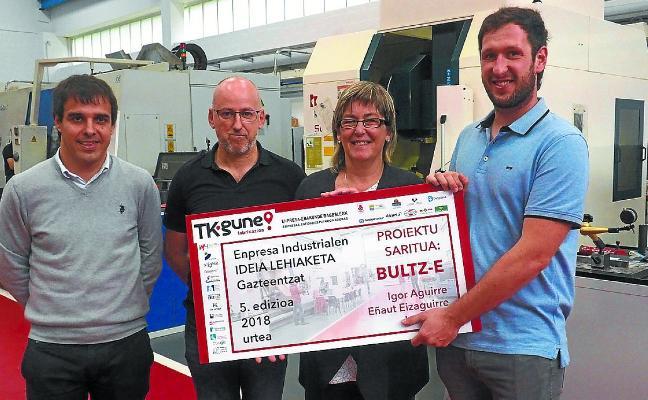 El proyecto Bultz-e se lleva la quinta edición del concurso TKgune