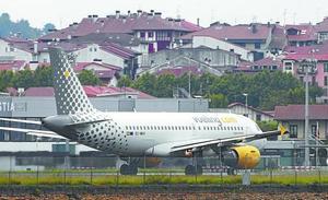 El cambio en el sistema de aproximación dispara los vuelos desviados en Hondarribia