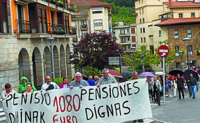 El colectivo de jubilados y pensionistas organiza una manifestación para el lunes