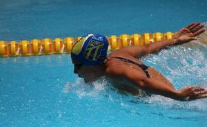 Oskitz Aguilar y Catalina Corró, en los Juegos del Mediterráneo