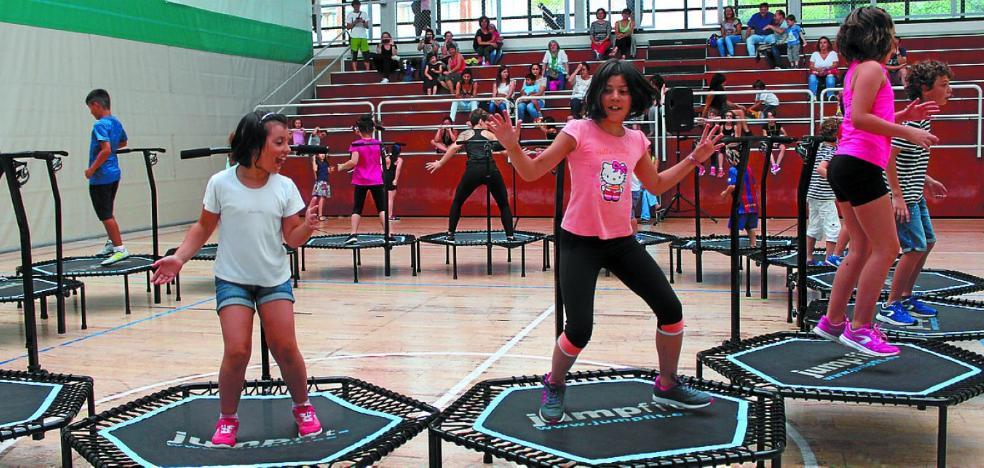 Celebración del Kirol Eguna con sesiones en el Polideportivo