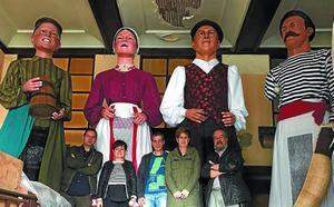 Dos nuevas parejas de gigantes animarán las próximas fiestas patronales