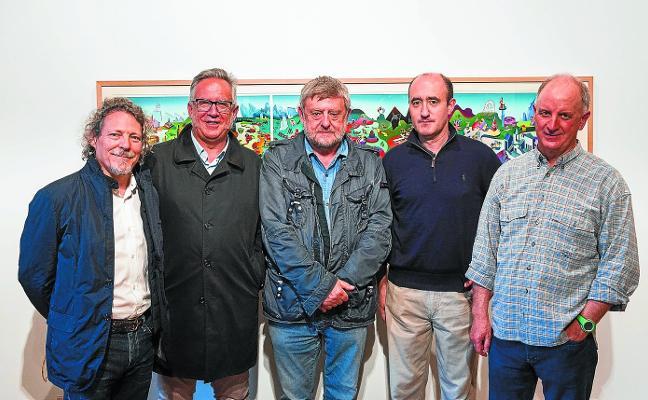 Exposición de obra gráfica de artistas vascos, editada por José Ignacio Olave, en Durango