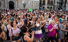 Protestas contra las sentencia de La Manada, en imágenes