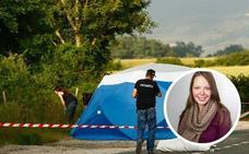 La Guardia Civil detuvo al presunto asesino de la joven alemana en Álava cuando quemaba la cabina de su camión