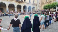 Hoguera de San Juan en Hernani