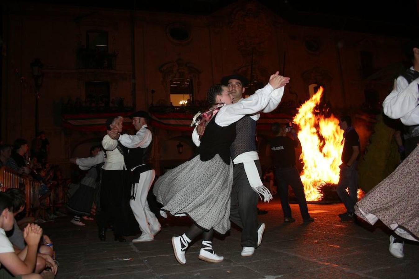 Noche de San Juan en Arrasate