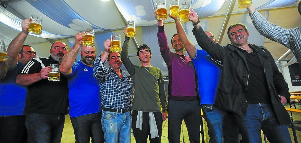 La Feria de la Cerveza ha clausurado el programa anual del Eibar Rugby