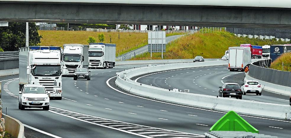 La ampliación a tres carriles de la A-63 entre Biriatou y Biarritz se abre con un año de retraso