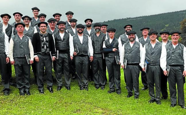 El Coro Easo brilla en Suiza